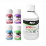 Акриловые краски, емкость, Darwi Acryl Mat