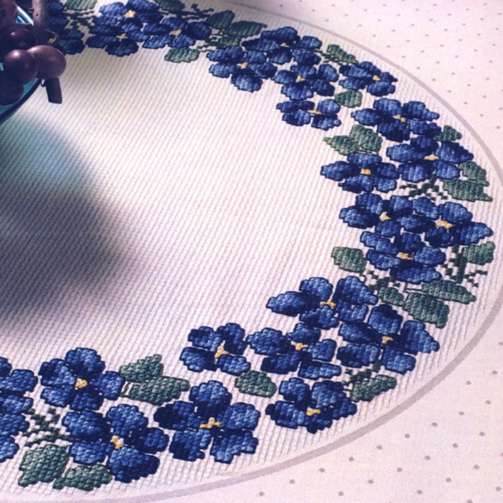 Набор для вышивки крестом Duftin Art. 19-119, Скатерть 87 cm х 87 см