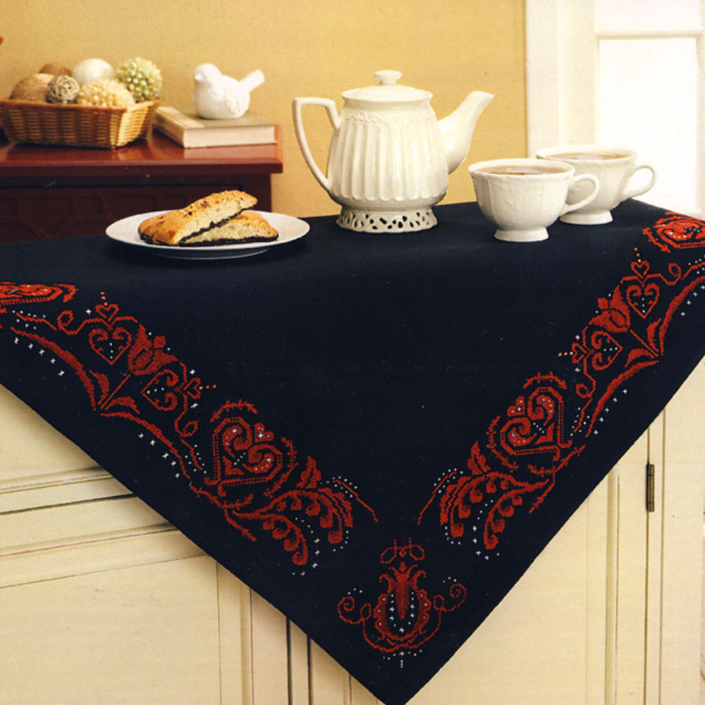 Tablecloth Embroidery Kit, Duftin Art. 19-609