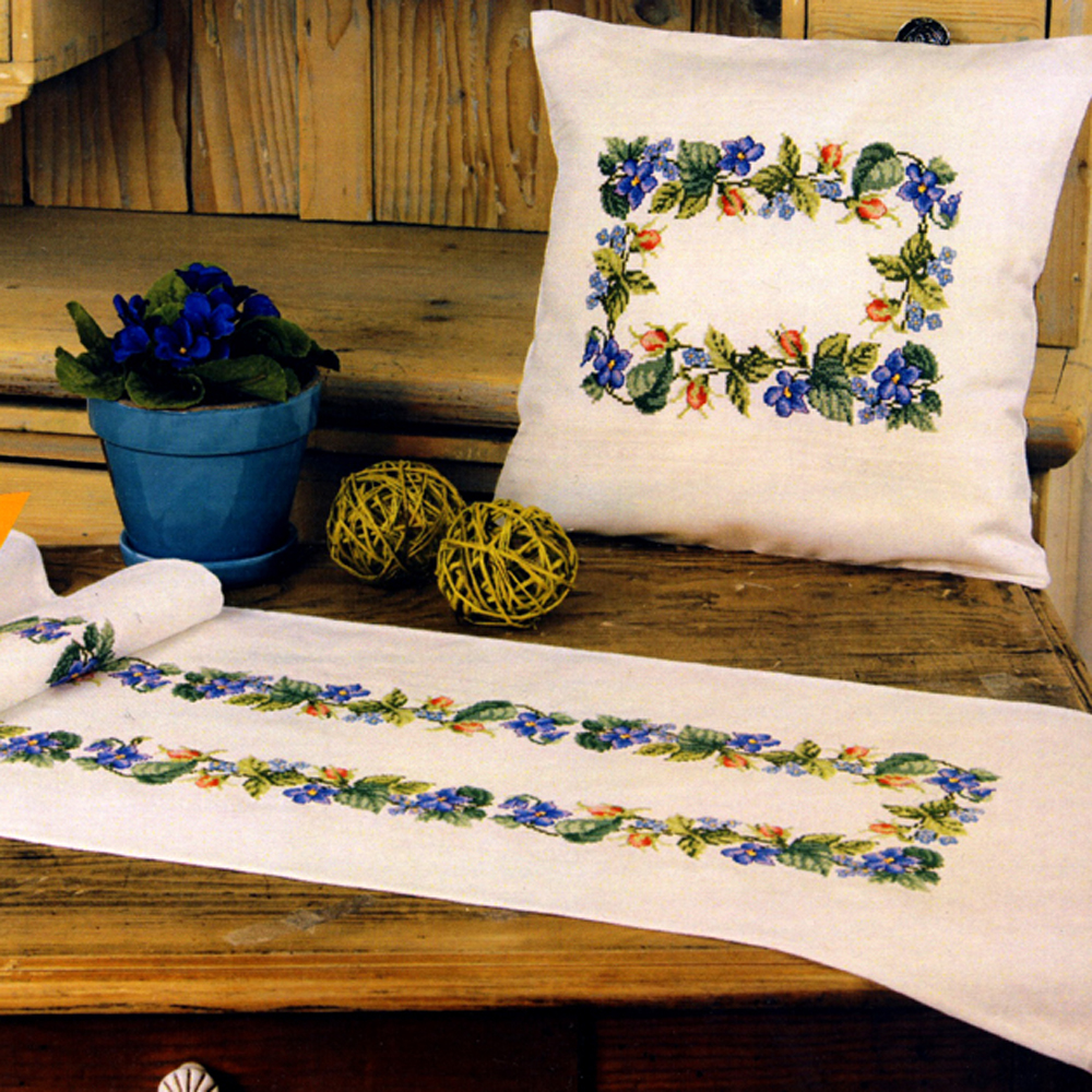 Cross Stitch Cushion Kit (Pillow covers) Duftin, 5117