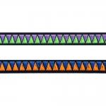 Lihtne kolmnurkadega mustriga kaunistuspael 10mm, Art.12896FC