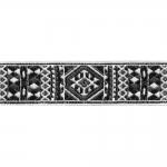Indiaanimustriga kaunistuspael 30mm, Art.16/B-PG