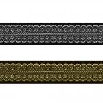Sissekootud pitsimustriga kaunistuspael 35mm, Art.35713FC