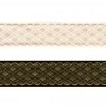 Sissekootud pitsimustriga kaunistuspael 35mm, Art.35712FC