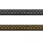 Sissekootud pitsimustriga kaunistuspael 16mm, Art.16713FC