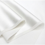 Pure Silk Fabric 90cm, Crepe Satin 12.5