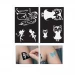 Самоклеющие трафареты, шаблоны для декора и тату 7см х 10см, Ki-Sign
