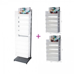 Emty Sales display 2 pcs with metal structure/rack, Cernit