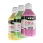 Акриловые краски, емкость 250мл, Darwi Acryl Opak