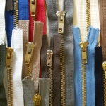 Metal zipper offer 50ps/pkt, 7cm - 22cm