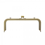 Purse frame, bag fastening, 27 cm x 10 cm, HD084