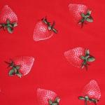 Maasikatega dekoratiivkangas 100% puuvill, 100cm, Art.199PYOPM5