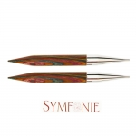 Symfonie Wood Interchangeable Circular Knitting Needle tips KnitPro