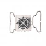 Metal buckle, 45x35 mm for belt width 30 mm