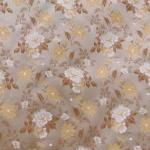 Sissekootud mustriga (jacquard) elegantne kunstsiidist kangas 501248