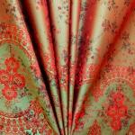 Jacquard-kangas keinosilkki Art.620362