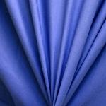 Koobaltsinine puuvillasegu kangas, laus 150cm