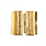 Reljeefse mustriga metallpannal 40x30 mm rihmale laiusega 40 mm
