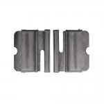 Металлическая пряжка 45x40 мм, для ремни шириной 40 мм