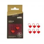 Locking Stitch Markers 20 mm, 6 pcs set, Addi 407-2