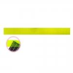 Läbipaistev õhem tollmõõdustikus plastjoonlaud 2` x 20` tolli (umbes 5 cm × 50 cm) LeSummit 34202 Neon