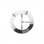 Металлическая пряжка ø80 мм, для ремни шириной 50 мм