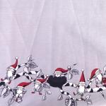 Jõuluteemaline laudlinakangas 140 cm, 05215-03