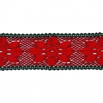 Jõuluvärviline vahepits D032 laiusega 5,5 cm