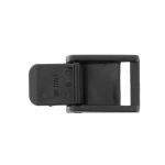 Plastic sliding taightening buckle, triglide 35x28 mm for belt width 20 mm