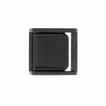 Plastic sliding taightening buckle, triglide 40x40 mm for belt width 30 mm