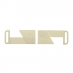 Plastic buckle, 65x25 mm for belt width 18 mm