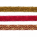 Decorative Ribbon LPE-518 / 16 mm