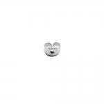 925 Hõbedast Kõrvarõnga tagune/ 925 Silver/ 5,5x5x2,8mm
