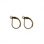 Kõrvarõnga konksud; / Earring Ear Wires, Lever Back; / 13 x 10mm