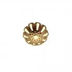 Pitsiline lillekujuline pärlikübar / 12mm