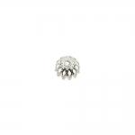 Pitsiline lillekujuline pärlikübar / 8mm