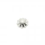 Pitsiline lillekujuline pärlikübar / 10mm