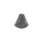 Lapik, reljeefse mustriga, kellukakujuline pärlikübar 18 x 20 x 12mm