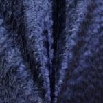 Tumesinine kunstkarusnahk, 170cm