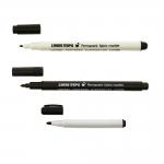 Permanent fabric marker, felt tip pen