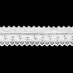 Broderie Anglaise Lace I691, 3,5 cm