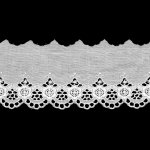 Broderie Anglaise Lace I808, 6,5 cm