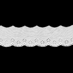 Cotton Lace/Broderie Anglaise 40mm Art.F-2245