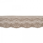 Kootud polüesterpits laiusega 5,5cm Art.D794