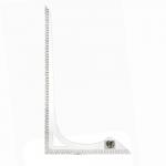 Transparent ruler with cm scale 30 cm x 45 cm, KL0918