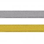 Lurex nauha 20mm Art. 3377, hopea ja kulta