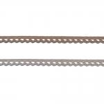 Kootud polüesterpits laiusega 1cm Art.D840