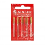 Ball Point Needles for Home Sewing Machines, Singer-type Syst.2045
