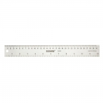 "Aluminium Ruler 30 cm / 12"" inch, Donwei R-012"