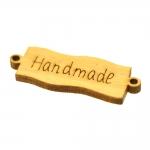 Vineerist, aasadega silt `Handmade` 44x15x4mm